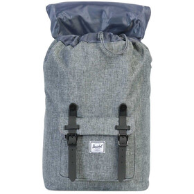 Herschel Little America Mid-Volume Backpack Raven Crosshatch